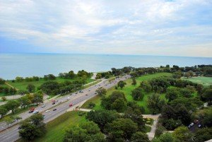 Chicago Apartments, Lake Shore Drive Aerial View