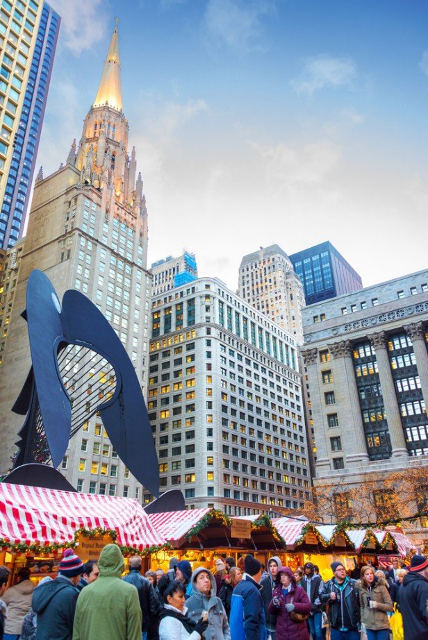 Chicago Apartments, December Events, Christkindlmarket