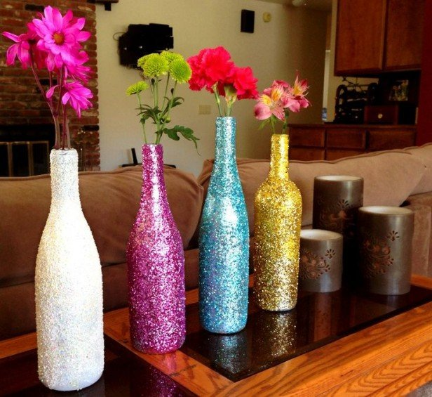Chicago Apartments, DIY Projects, Flower Vase