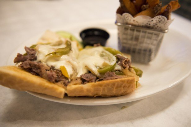 Chicago Apartments, Ruby's, Philly Cheese Steak