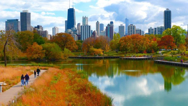 Chicago Apartments, Autumn Things to Do, North Pond