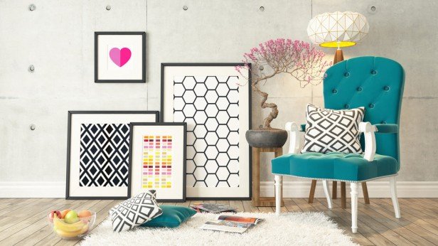 4 Ways To Create Your Own Apartment Art On A Budget Planned Property Management Inc