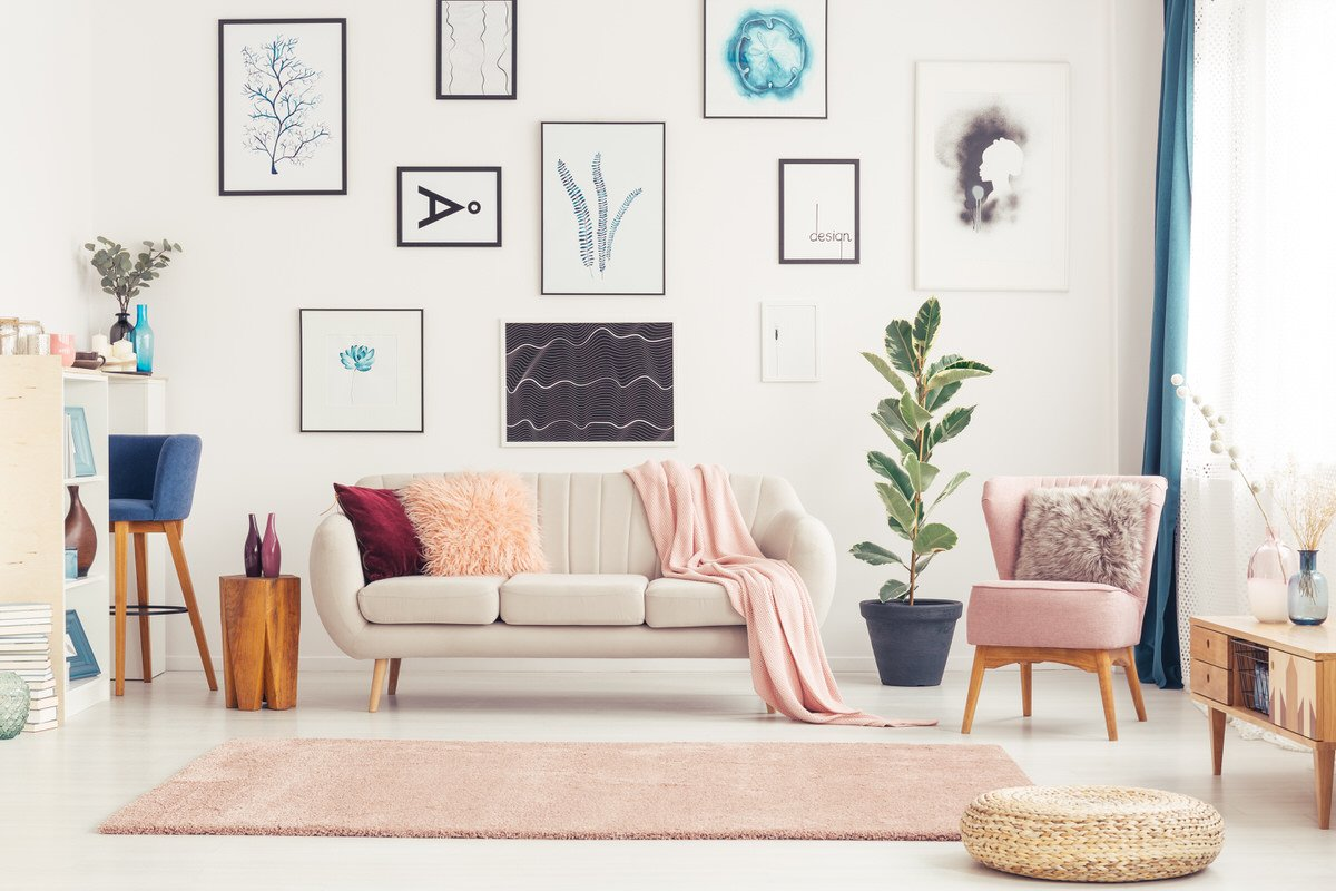 4 Ways To Create Your Own Apartment Art On A Budget - Planned ...