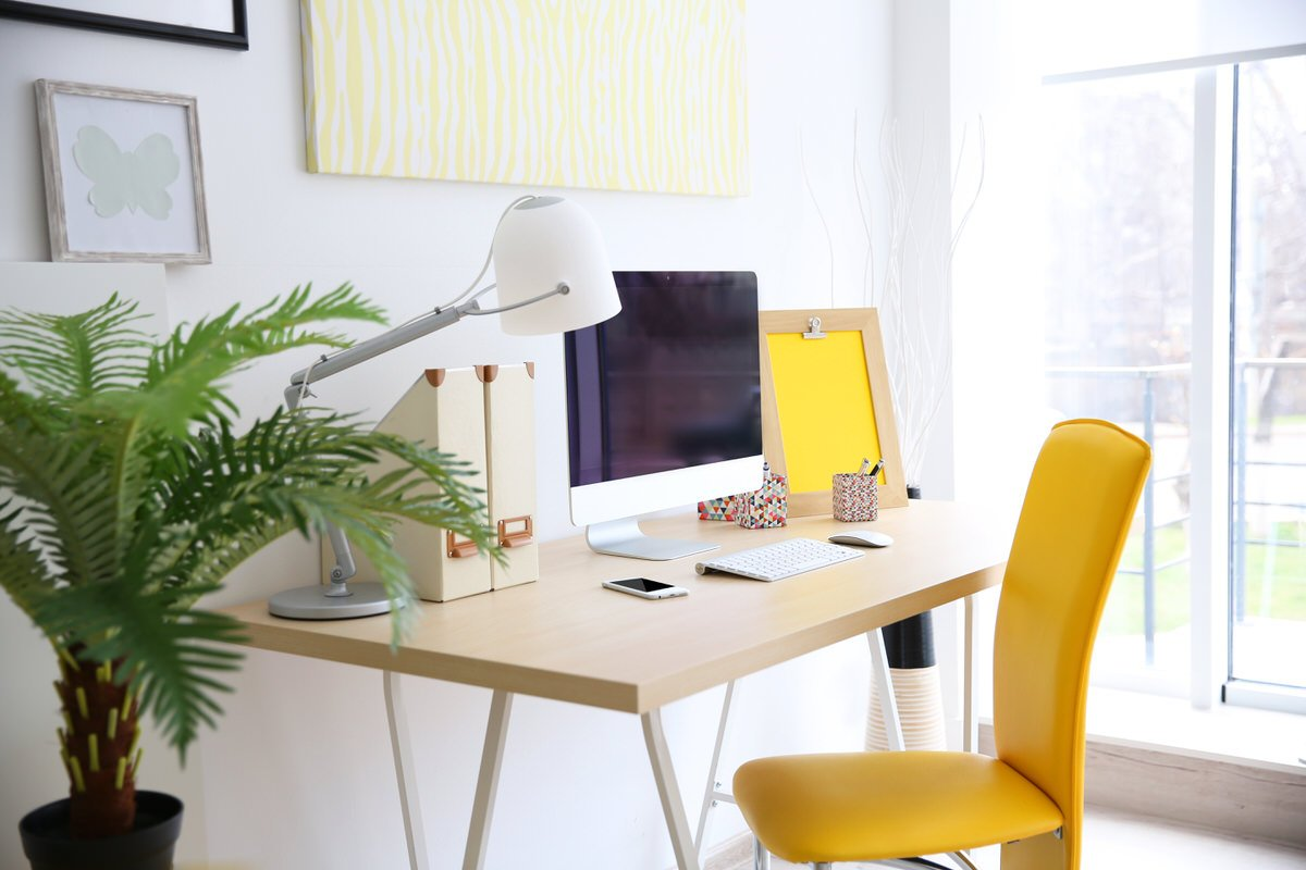 Tips For Squeezing A Workspace Into Your Small Apartment ...