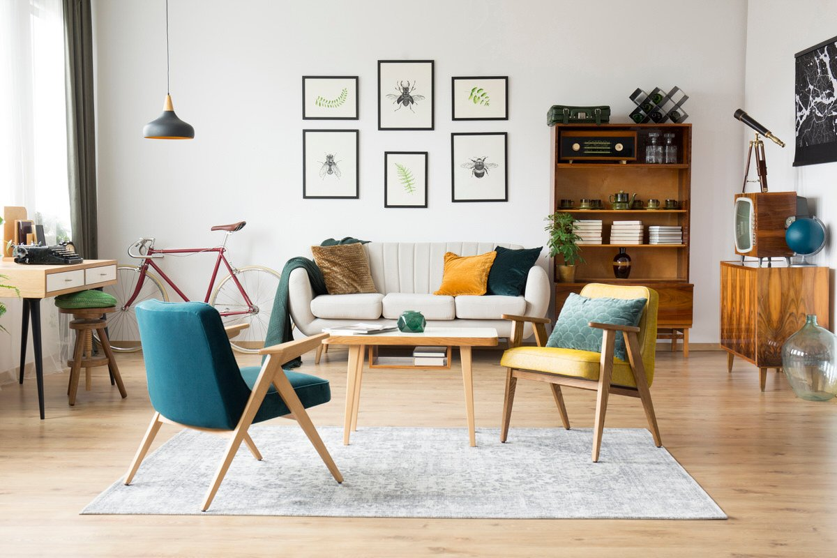 Chicago Apartments, Online Furniture, Living Room