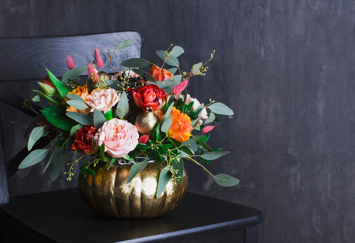fall florals for your apartment