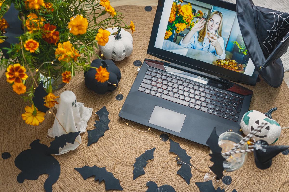 virtual halloween party